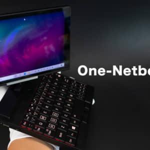 エンジニア向けUMPC「One-Netbook A1」の試作機で筐体の仕上がりをチェックする