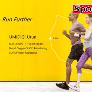 スマートウォッチ「UMIDIGI Urun」のスペックまとめ!GPS内蔵、5気圧防水で約8千円!