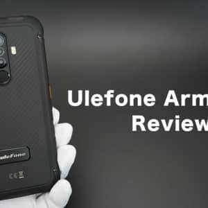 Ulefone Armor X8のレビュー。性能は低いが本格タフネス仕様のスマホ