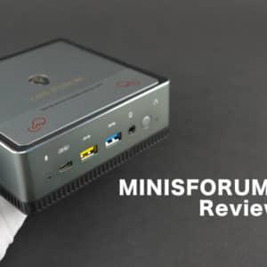 MINISFORUMのUM270レビュー。天板パカッと開いてメンテしやすいミニPC