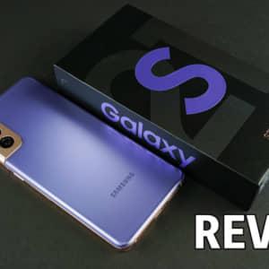 Galaxy S21 5Gのレビュー!小型で軽量。片手でも操作しやすくてとっても快適!