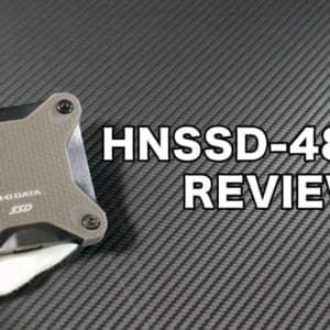 PS4の拡張ストレージにも使える「IO DATA HNSSD-480BK」のレビュー!速度は遅め!