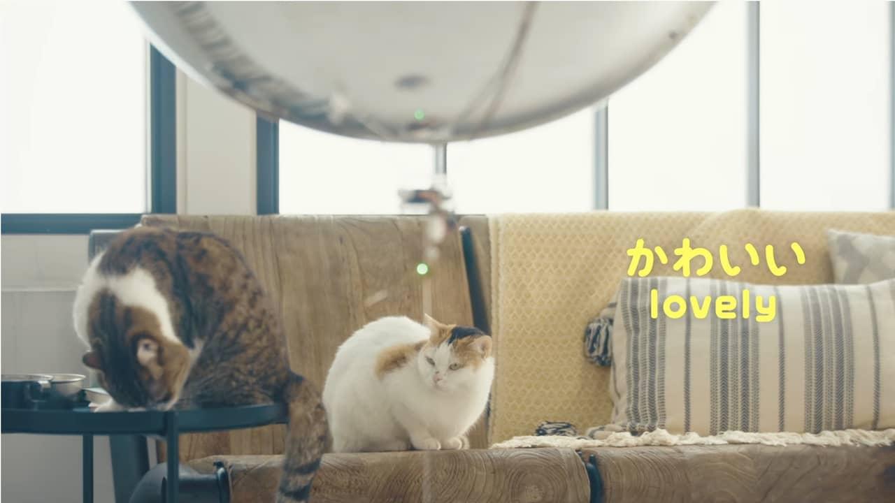 ドコモの猫型ドローン「にゃろーん」④