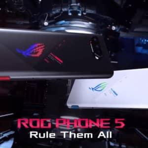 ROG Phone 5シリーズ発表!スナドラ888搭載で最上位版はメモリ18GBのゲーミングスマホ!