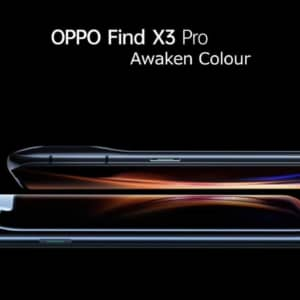 「OPPO Find X3 Pro」発表!10億色対応のディスプレイとカメラ搭載のハイエンド機、発売日は6月頃
