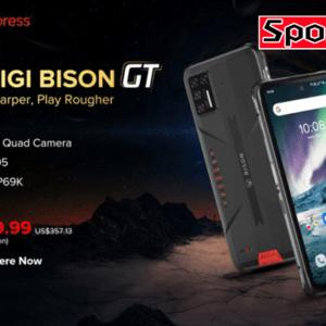 UMIDIGI BISON GTがアリエクでセールスタート!高性能タフネススマホが239.99ドル