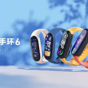 「Xiaomi Mi Smart band 6」発表!血中酸素飽和度測定対応で14日の電池持ち