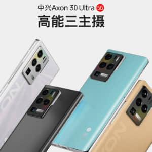 ZTE「Axon 30 Ultra 5G」「Axon 30 Pro 5G」発表!上位モデルは60倍ハイブリッドズーム対応