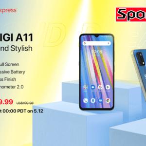 「UMIDIGI A11」発表!5,150mAhバッテリー搭載のエントリーモデル、発売日は5月頃