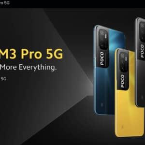 「POCO M3 Pro 5G」発表!Dimensity 700搭載の5Gスマホ、発売は5月20日