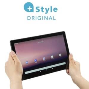 +Style タブレット発表!10.1型のHelio P35搭載エントリーモデル