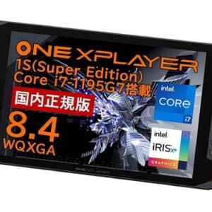 CPU強化!ポータブルゲームUMPC「ONEXPLAYER 1S(Super Edition)」発表!9月11日に発売