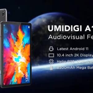 「UMIDIGI A11 Tab」登場!SIMカードとキーボードが使えるHelio P22搭載タブレット