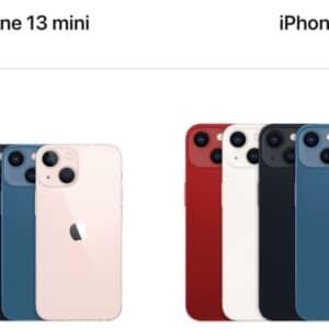 iPhone 13 / 13 mini発表!容量は128GBで86,800円〜!9月24日発売!