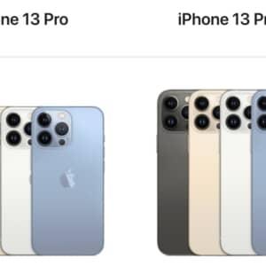 iPhone 13 Pro / 13 Pro Max発表!待望の120Hz!ゲーマーの人はこれ!発売は9月24日!