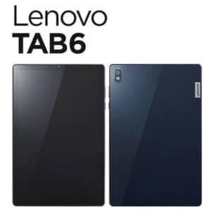 Lenovo TAB6発表!国内キャリア初の5G対応タブレット!発売日は10月22日!
